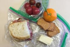 Lunch idea italian sandwich