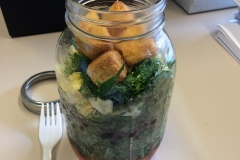 Lunch idea jar salad
