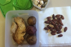 Lunch idea leftovers baked chicken
