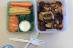 Lunch idea leftovers chicken marsala