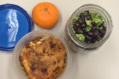 Lunch idea leftovers lasagna