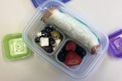 Lunch idea peanut butter jelly