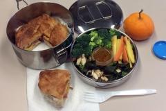 Lunch idea sandwich salad